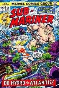 Sub-Mariner (1968 series) #62, VF- (Stock photo)
