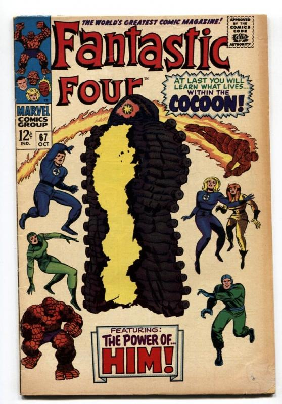 Fantastic Four #67 1967 First appearance of  Warlock / HIM   Marvel