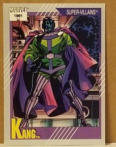 1991 Marvel Universe #81 Kang