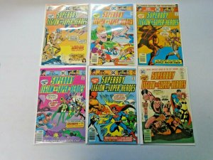 Bronze Age Superboy Comic Lot 30¢ Covers #216-227 12 Diff Avg 6.0 FN (1976-1977)