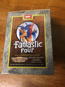 THING Fantastic Four Mini Statue 2003 Bowen Designs IN BOX #'d TWT1