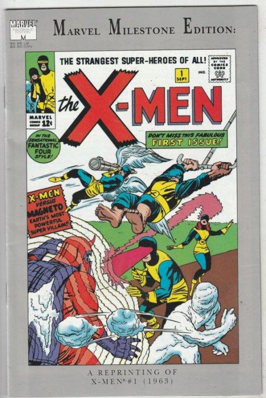 X-Men, Marvel Milestone Edition #1 (Jan-91) VF/NM High-Grade X-Men