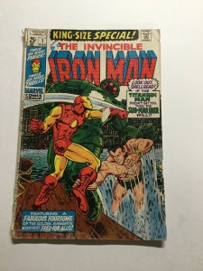 Iron Man King-size Special 1 Good Gd 2.0 Marvel
