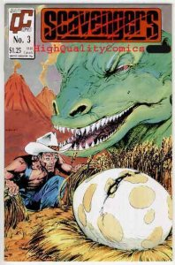 SCAVENGERS #3, VF+, Dinosaurs, T-Rex, Bart Sears, Wright, more Dinos in store
