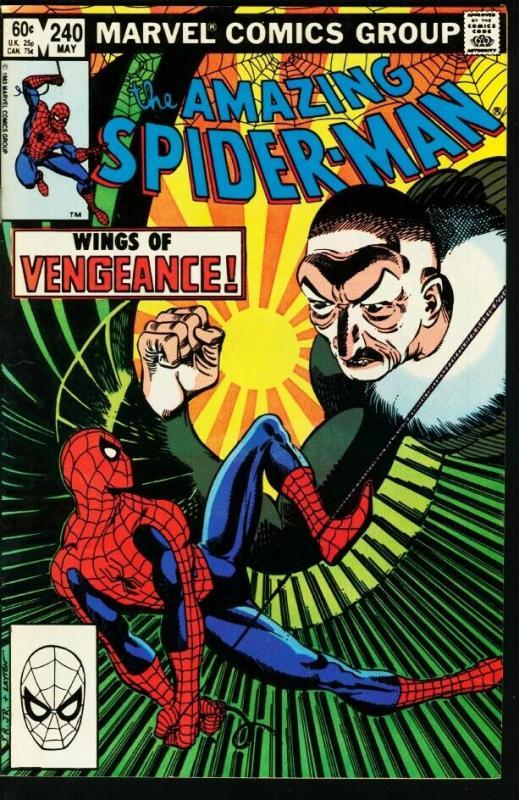 AMAZING SPIDER-MAN #240-1983-MARVEL VF