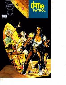 Lot Of 2 Comic Books Spoof Dame Patrol #1 and Millennium Da'Kota #1  MS9