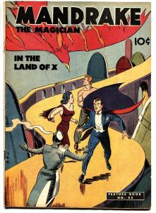 Feature Book #52 1948- Mandrake the Magician- Lee Falk VG
