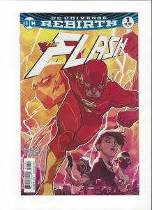 The Flash #1 DC Universe Rebirth NM
