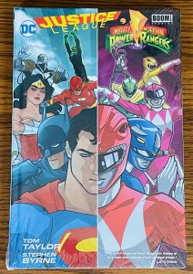 JUSTICE LEAGUE MIGHTY MORPHIN POWER RANGERS HARDCOVER GRAPHIC NOVEL BOOK DC