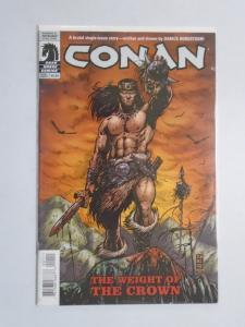 Conan the Cimmerian Weight of the Crown (Dark Horse) #1 - 8.0 VF - 2010