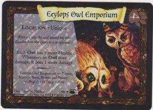 2002 Harry Potter Trading Card Game Eeylops Owl Emporium
