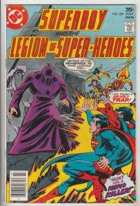 Superboy #229 (Jul-77) VF/NM High-Grade Superboy, Legion of Super-Heroes
