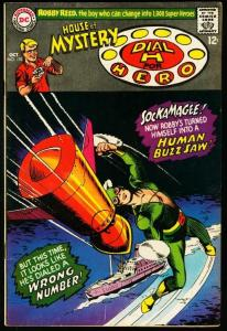 HOUSE OF MYSTERY #170-HUMAN BUZZ-SAW-DC FN