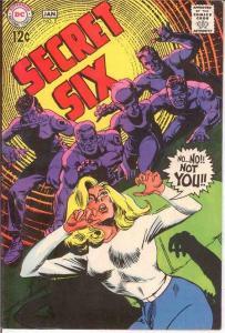 SECRET SIX 5 VF   January 1969 COMICS BOOK