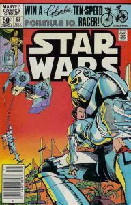 Star Wars #53 FN; Marvel | save on shipping - details inside