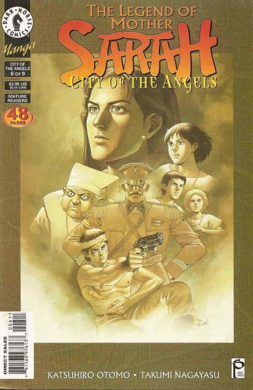 Legend of Mother Sarah, The: City of the Angels #6 VF/NM; Dark Horse | save on s
