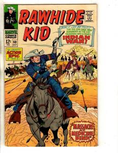 Rawhide Kid # 60 VF Marvel Comic Book Western Cowboys Action Six Shooter FH2