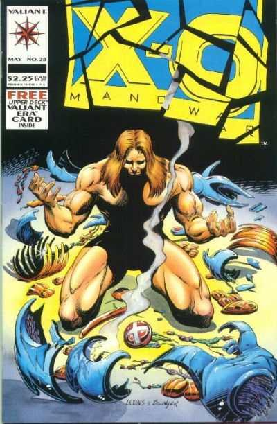 X-O Manowar (1992 series) #28, NM- (Stock photo)