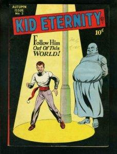 KID ETERNITY #3-MAC RABOY ART-DINOSAUR STORY-QUALITY    VF+