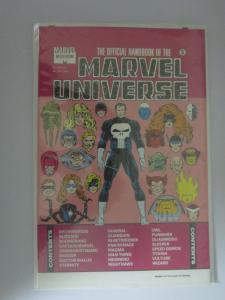 Official Handbook Marvel Universe Master Edition #5, VF (1991)