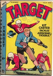 Target Vol. 9 #9 1948-Joe Certa football cover-Gary Stark-Don Rico-G/VG