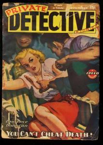 PRIVATE DETECTIVE 1945 NOV-RARE PULP G