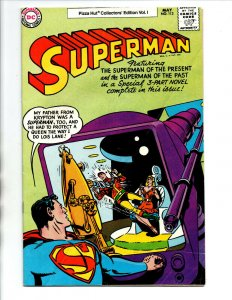 Superman #113 - Pizza Hut Promo Reprint - 1977 - FN