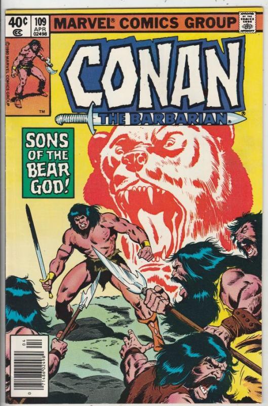Conan the Barbarian #109 (Apr-80) NM- High-Grade Conan the Barbarian