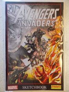 Avengers/Invaders Sketchbook #1 (2008)