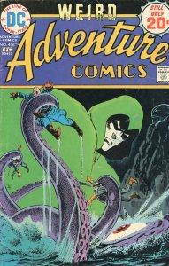 Adventure Comics 436  1974  Jim Aparo Art!  Spectre!  G  Reader Copy