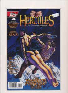 Topps Comics HERCULES guest starring XENA #4  VERY FINE/NEAR MINT (HX900)