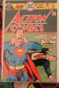 Action (Superman) #453 (DC, Nov 1975) VF