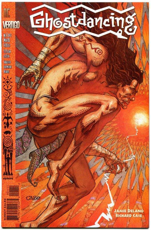 GHOST DANCING #1 2 3 4 5 6, VF/NM, 1994,  6 issues, more Vertigo in store, 1-6
