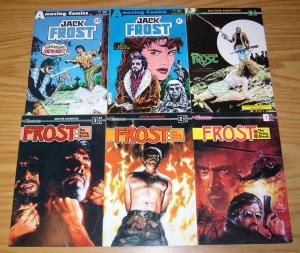 Jack Frost #1-2 VF/NM complete series + one-shot + the dying breed 1-3 set lot