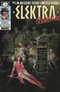 Elektra: Assassin #3 VF/NM; Epic   save on shipping - details inside