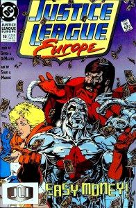 Justice League Europe #10 (1990)