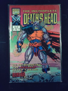The Incomplete Death's Head (UK) #2 (1993)