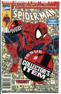 Spider-Man #1 1990- Sealed in polybag- Marvel Comics NM-