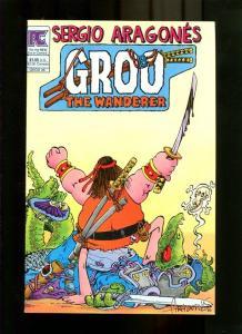 GROO 6-1983-SWORD FIGHTING-ARAGONES NM