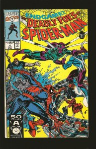 Marvel Comics Deadly Foes Of Spider-Man Vol 1 No 4 August 1991