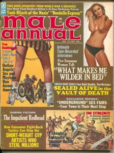 Male Annual #13 11/1971-Outlaw Motorcycle gang-Earl Norem-cheesecake-pulp thr...