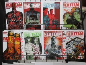 Red Team Double Tap, Center Mass (Dynamite 2007) Lot #1-6, 8, 9 Ennis Cermak