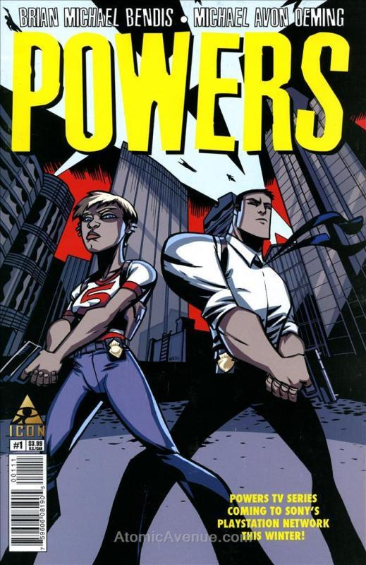 Powers (4th Series) #1 VF/NM; Icon | save on shipping - details inside