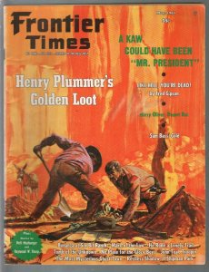 Frontier Times 5/1965-Western-Henry Plummer-Sam Bass-VG