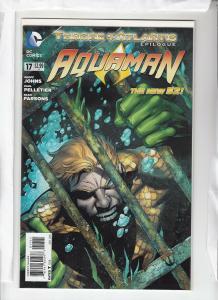 AQUAMAN (2011 DC) #17 NM- -01211