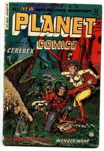Planet #73 -1953-Fiction House-GGA cover-Last issue