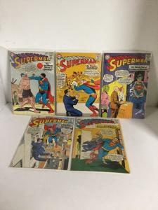 Superman 171 172 173 174 175 176 177 178 179 180 Vg-Fn Very Good-Fine 4.0-6.0