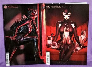 Joker War CATWOMAN #25 - 26 Lee Bermejo Cardstock Variant Covers (DC, 2020)!