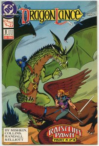 DRAGONLANCE #8, NM, Knights, Dragon, TSR, DC, 1988 1989, more in store