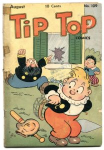 Tip Top Comics #109 1945- Captain and the Kids- G